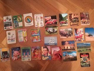 Calendarios años 90