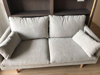 Sofá de 2 Plazas Gris - MAISONS DU MONDE - COLLINS