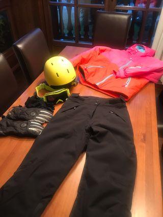 Conjunto Esquí o ski chica 12-15 años