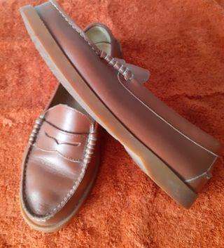 Zapato tipo nautica