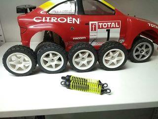 Coche Rally gasolina teledirigido.