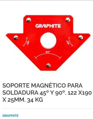 Soporte magnetico para soldadura