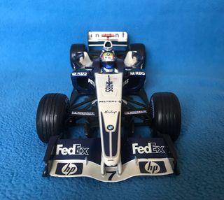 1:18 maqueta coche F1 Williams bmw FW27