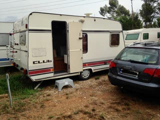 Caravana Bürster City - Papeles 750kg