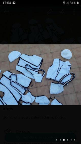 trajes de pastorcillo tallas 1 , 8 y 10 años