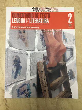 Libro Lengua y Literatura, 2º Bachillerato
