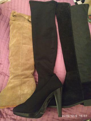 muchas botas