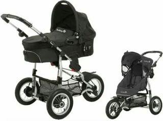 Carro de bebe 2*1 todoterreno