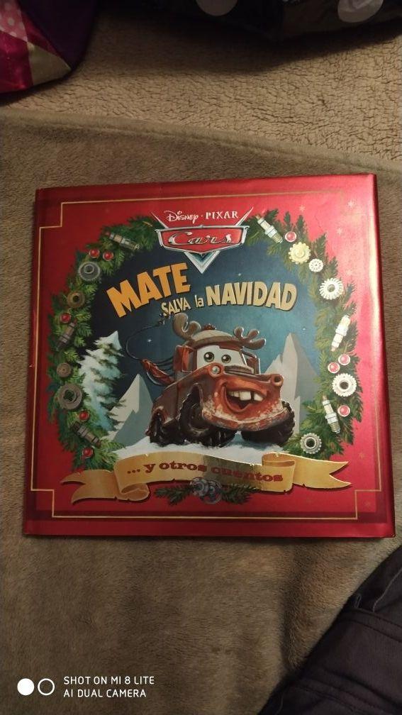 libro Mate salva la Navidad