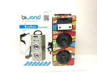 Altavoz Bluetooth Biwond Joybox Karaoke Comi 94412