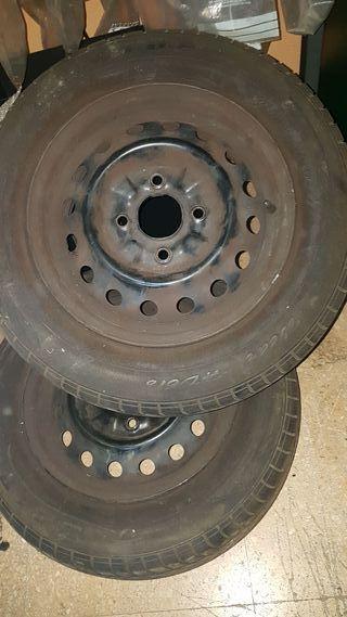 ruedas nissan nv200
