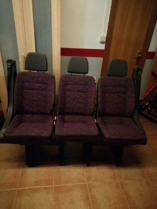 asientos traseros de Mercedes Vito 110 año 1998