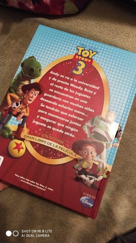 Gran libro de la película toy story 3