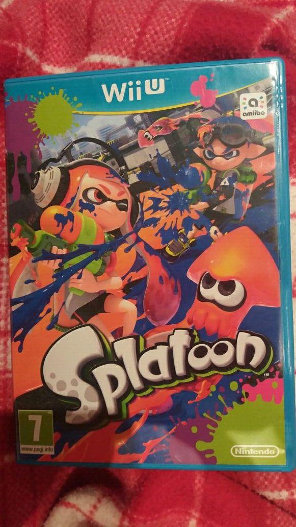 Juego Wii U Splatoon + amiibo