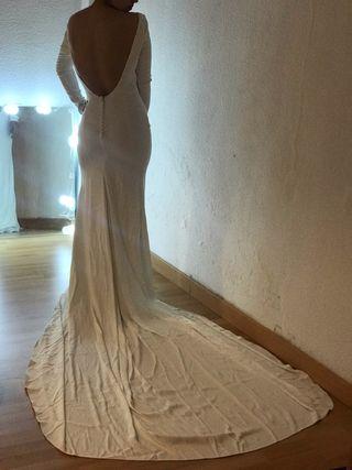Vestido de Novia Estilo Rosa Clara Hecho a medida
