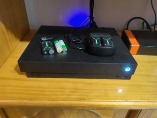 Xbox one x 1 Terabyte más kinect pc+juegos+ acceso