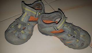 zapatos Merrell verano t. 28