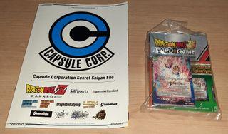 Dragon Ball Z. Card game. Juego de cartas.