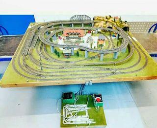 Maqueta Fleischmann modelismo ferroviario