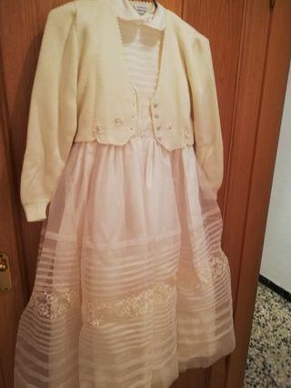 vestido niña de comunión.