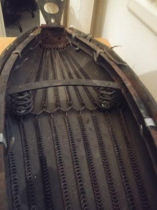 asiento sillín Silca (Eibar) Vespa 125L original