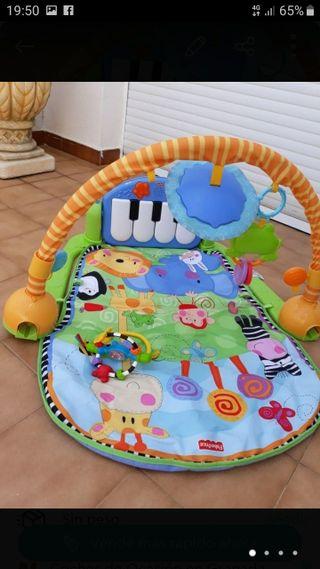 gimnasio piano pataditas manta de juego para bebés