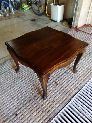 Mesa de madera de Roble antigua