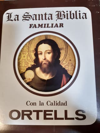 La Santa Biblia Ed. Familiar - Editorial Ortells