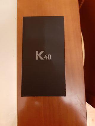 NUEVO TELEFONO MOVIL LG K 40.