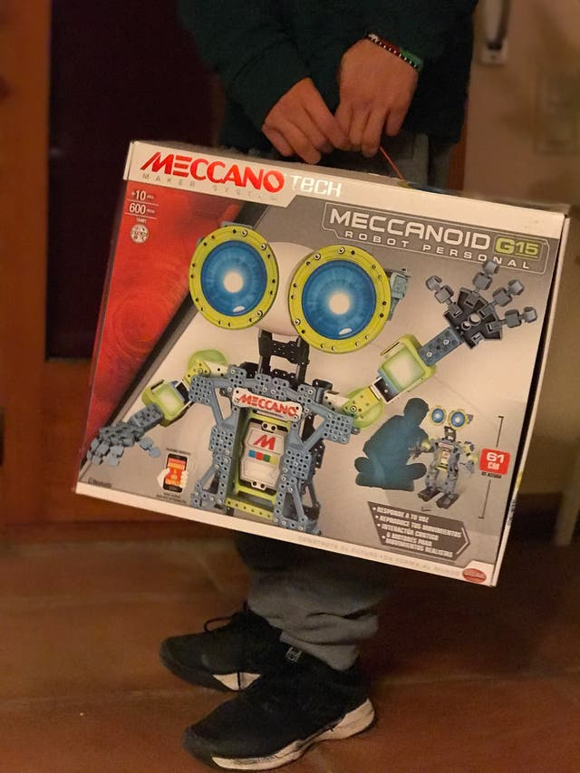 Meccanoid G15 Robot personal Meccano Mecano