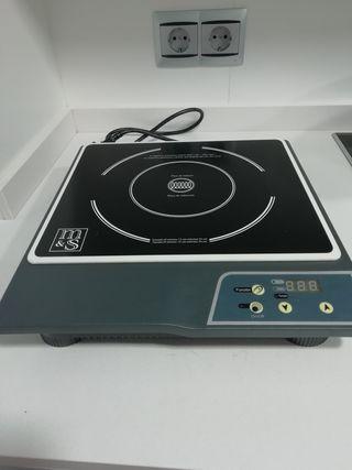 placa inducción portátil eléctrica
