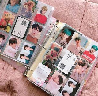 Photocards de kpop