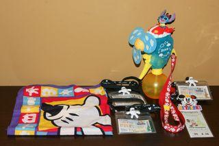 Lote 6 piezas Disney Michey Mouse,Stitch,