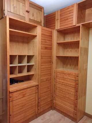 Dormitorio juvenil madera de pino macizo