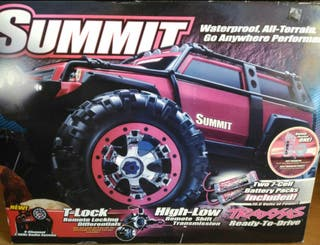Coche RC Traxxas Summit eléctrico