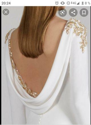 vestido novia Pronovias memory boda rosa Clará