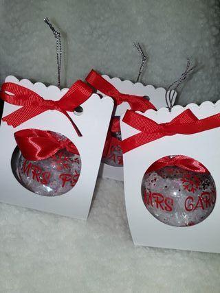 cajas para bolas de navidad