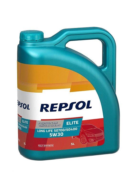 Aceite de coche precintado Repsol 5 30w y 5 40w