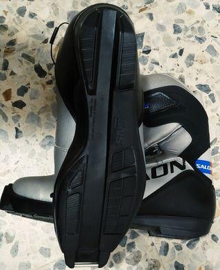 botas Salomón nuevas esquí de fondo 41