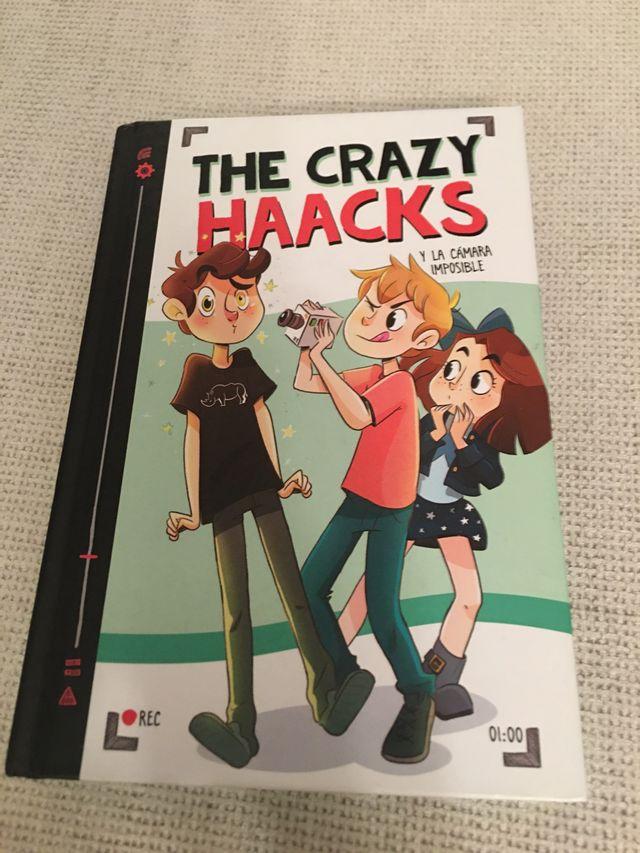 Libro The crazy Haacks y la camara imposible