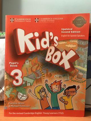 Libro de Inglés para niños. Kid's Box
