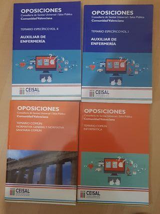libros de oposicion tcae valencia