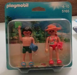 Playmobil Bañistas verano