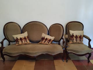 Sofás , butacas y sillas nuevos isabelinos