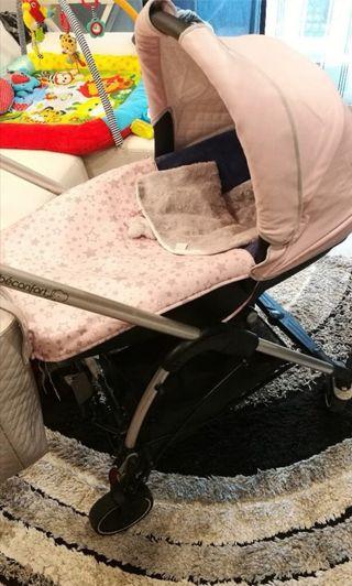 Regalo Capazo y silla de marca Bebeconfort