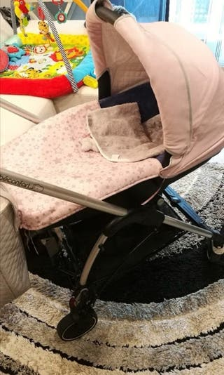 Capazo y silla de marca Bebeconfort