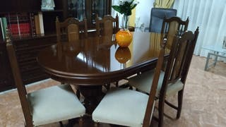 Mesa comedor + Mueble comedor