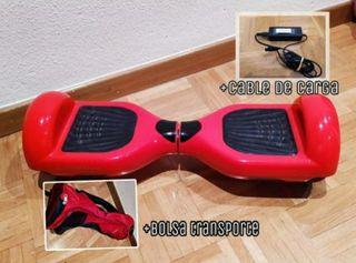 Hoverboard smartgyro rojo.