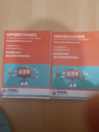 Libros oposicion tcae valencia