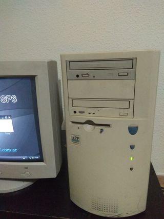 torre de ordenador antiguo
